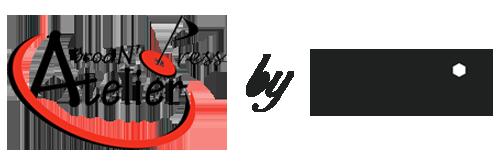 LAHOZ logo atelier by lahoz noir 1 - Bienvenue Atelier Lahoz Brod N Press vêtements professionnels linge epi équipement de protection individuelle retouches broderie flocage marquage