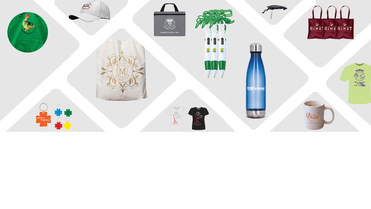lahoz bandeau objets publicitaires 4 - Bienvenue Atelier Lahoz Brod N Press vêtements professionnels linge epi équipement de protection individuelle retouches broderie flocage marquage